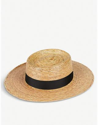 LACK OF COLOR Palma boater hat
