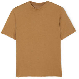 Live The Process Boy Cotton And Cashmere-blend T-shirt - Brown