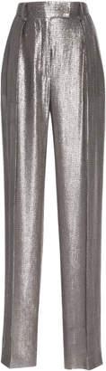 Alberta Ferretti Metallic Trouser