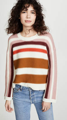 5c5754d0c7 Madewell Valleyscape Striped Pullover Sweater