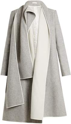 DAY Birger et Mikkelsen CARL KAPP Crayon draped-front wool-blend coat