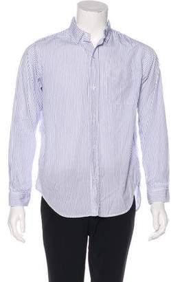 Current/Elliott Striped Woven Shirt