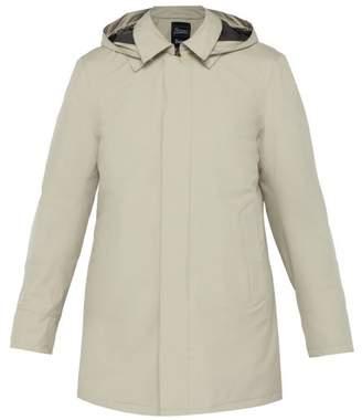 Herno Laminar Hooded Overcoat - Mens - Beige