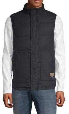Scotch & Soda Quilted High Neck Vest