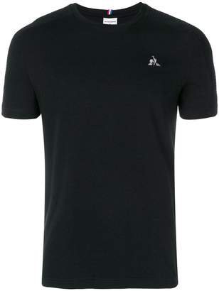Le Coq Sportif logo embroidered T-shirt