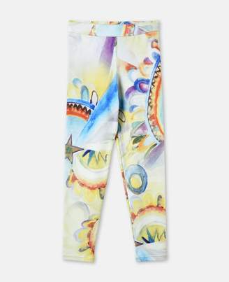Stella McCartney tula rainbow print leggings