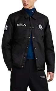 Barneys New York NBALab x The Very Warm XO Men's Brooklyn Nets Coach's Jacket