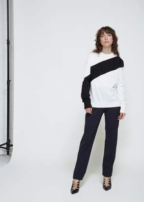 Calvin Klein Diagonal Stripe Sweater