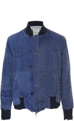 Greg Lauren French Artist Varsity Jacket