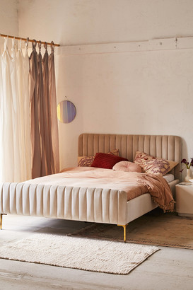 Urban Outfitters Marcella Velvet Bed