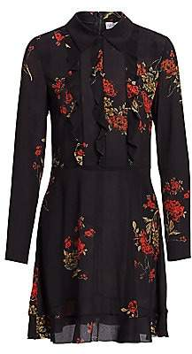 RED Valentino Women's Floral Shirtdress