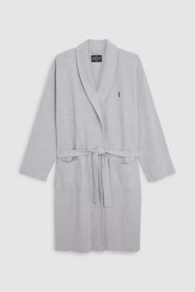 Next Mens Grey Lightweight Waffle Dressing Gown c467640e8