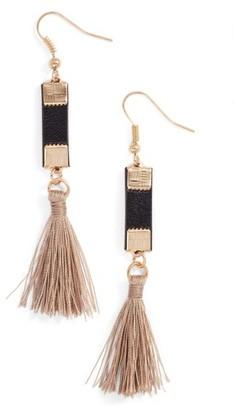 Women's Elise M. Sancho Tassel Drop Earrings $20 thestylecure.com