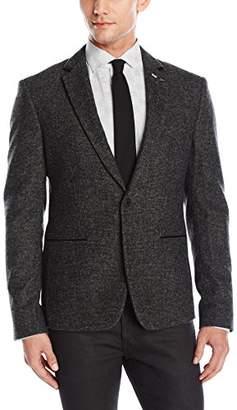 GUESS Men's Mini Check Blazer