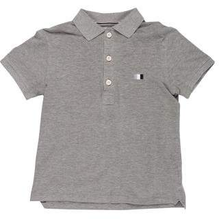 Thom Browne Short Sleeve Knit Polo