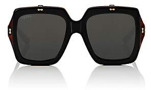 Gucci Women's GG0088S Sunglasses - Black Havana