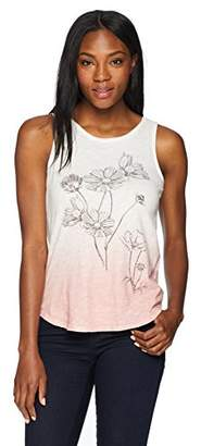 Lucky Brand Women's Flowers Tank TOP