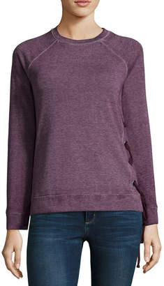A.N.A Long Sleeve Side Tie Sweatshirt