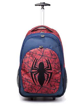 Spiderman Spider Man Logo Trolley Backpack