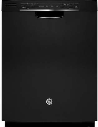 """GE Appliances 24"""" 48 dBA Built-In Dishwasher with Front Controls"""
