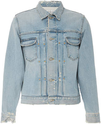Fabric Brand Destiny Distressed Denim Jacket