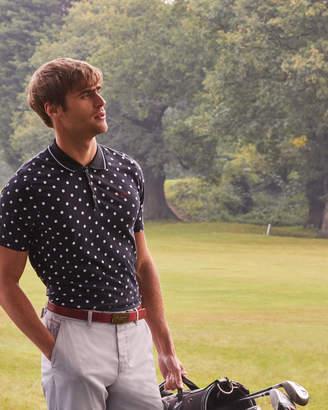 Ted Baker GULF Mini golf ball print polo shirt