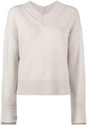 Helmut Lang V-neck sweater