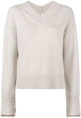 Helmut Lang V-neck sweater