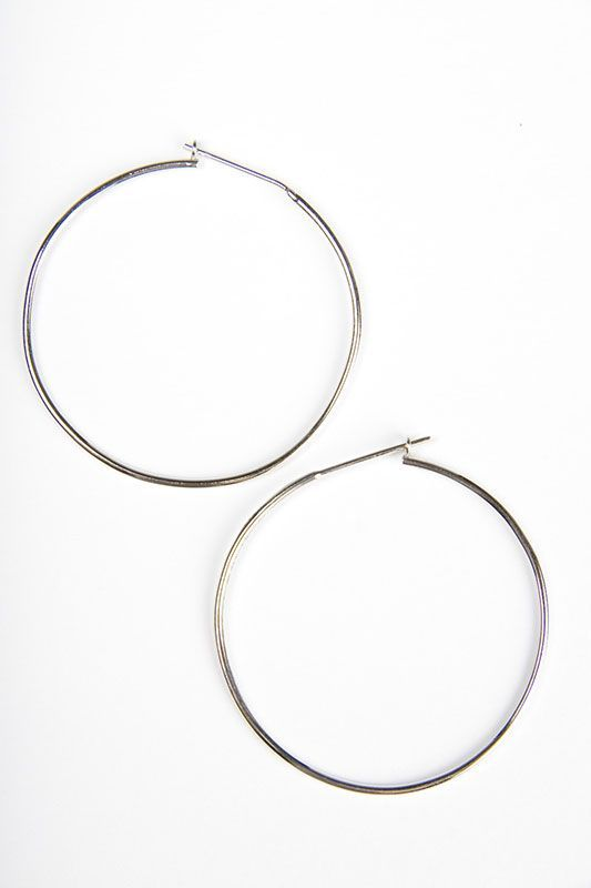 CAMPISE 14K Gold Medium Hoop Earrings Exclusive