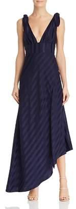 Keepsake Abound Shadow Stripe Gown