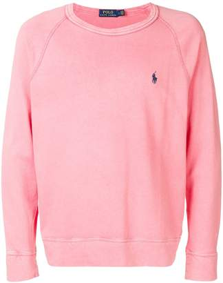 Polo Ralph Lauren embroidered logo sweatshirt