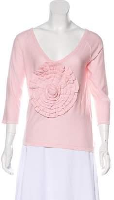 Sonia Rykiel Long Sleeve Knit Top