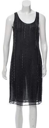 Versus Embellished Sleeveless Dress