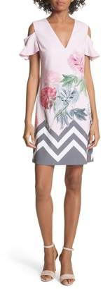 Ted Baker Jareye Cutout Tunic Dress