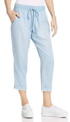 Bella Dahl Beaded Chambray Pants