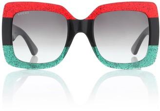 d41ec99c1a0d3 Gucci Oversized Square Sunglasses - ShopStyle