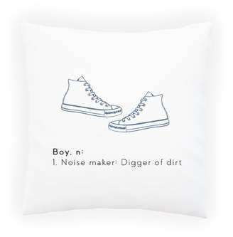 N. INNOGLEN Boy, 1. Noise Maker; Digger Of Dirt Decorative Pillow , Cushion cover with Insert or Without j432p