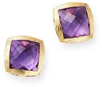 Bloomingdale's Amethyst Stud Earrings in 14K Yellow Gold - 100% Exclusive