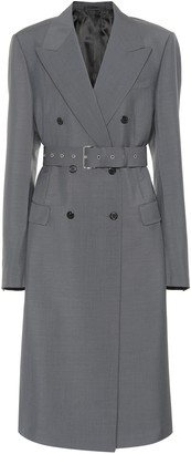 Prada Mohair and wool coat