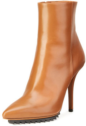 Givenchy Strettoia Leather Pointed-Toe Ankle Boot, Caramel $1,175 thestylecure.com