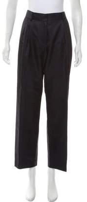 Dries Van Noten High-Rise Straight-Leg Pants w/ Tags