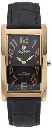 Croton Men's Aristocrat Leather Watch