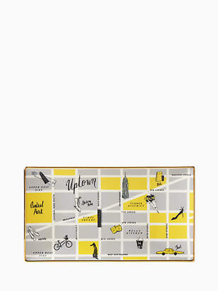 Kate Spade Nyc Map Serving Tray