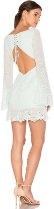 MAJORELLE Esmeralda Dress $205 thestylecure.com