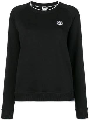 Kenzo stripe neck sweatshirt