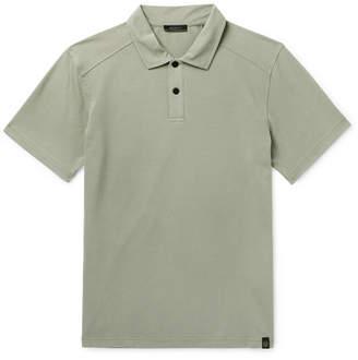 Belstaff Stretch-Cotton Pique Polo Shirt - Men - Green