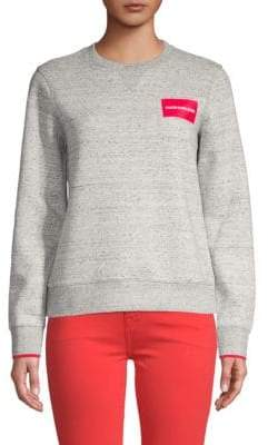 Calvin Klein Jeans Blocked Pop Logo Sweatshirt