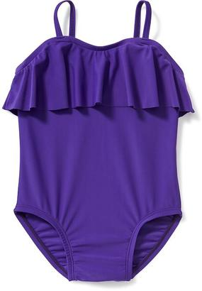 Ruffled Swimsuit for Toddler $14.94 thestylecure.com