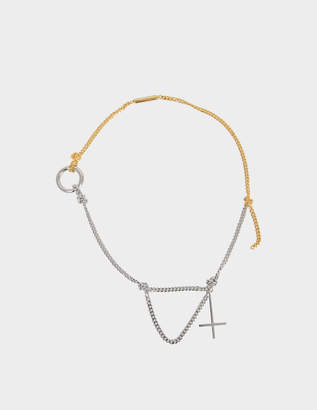 Alexander Wang Cross Necklace