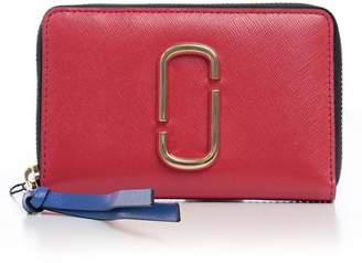 Marc Jacobs Snapshot Compact Zip-around Wallet